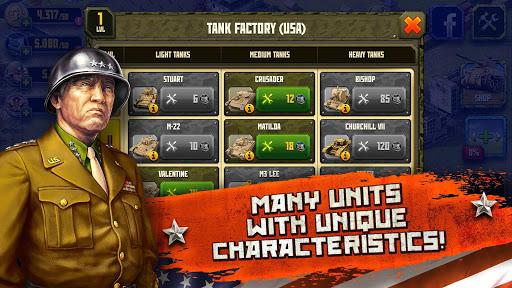 Second World War: Western Front Strategy game  screenshots 3