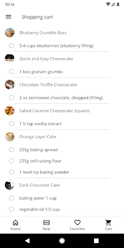 Cake and Baking Recipes  screenshots 5