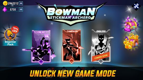 Bowman: Stickman Archero Mod Apk (God Mod + No Ads) 8