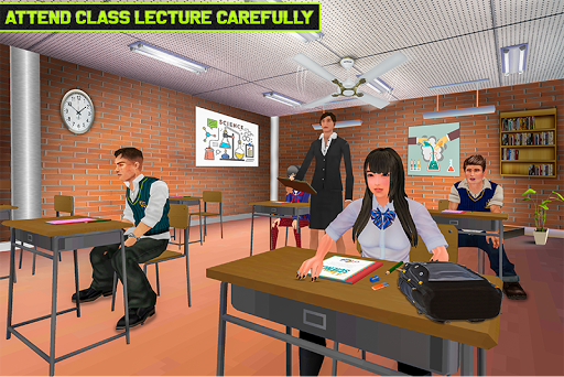 Virtual High School Life Simulator Offline 2020  screenshots 2