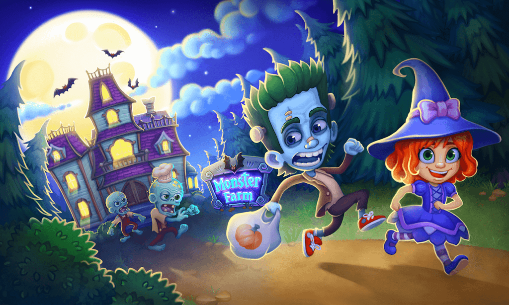 Monster Farm - Happy Ghost Village - Witch Mansion poster 21