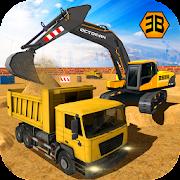 Heavy Excavator Crane - City Construction Sim