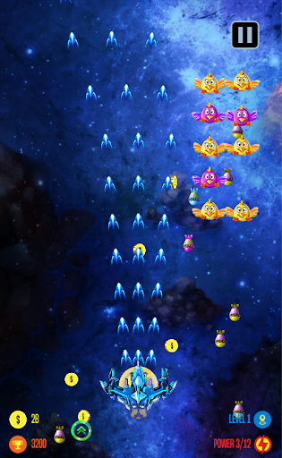 Chicken Shooter Galaxy invaders 1.1 screenshots 2
