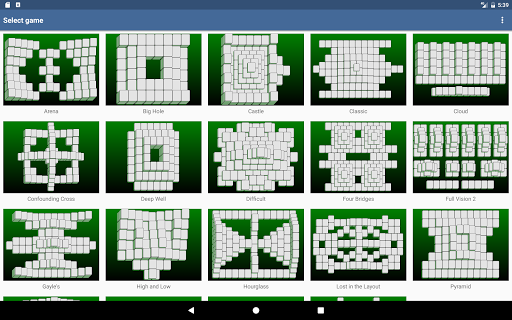 Mahjongg Builder 3.1.0 screenshots 10