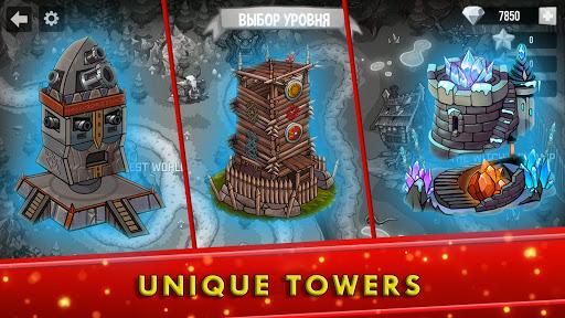 Tower Defense Games - GOLDEN LEGEND apklade screenshots 2