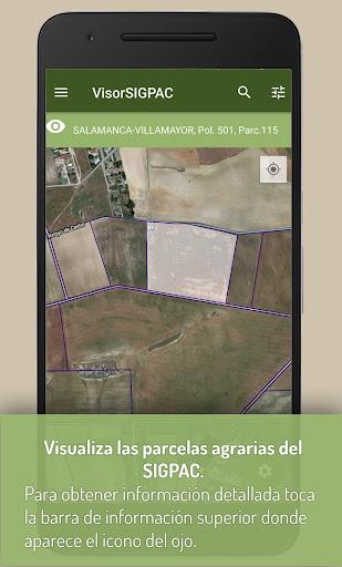 VisorSIGPAC - Libreta de campo  screenshots 1