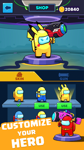 Rocket War: Impostor Fight  screenshots 3