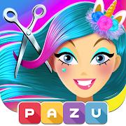 Girls Hair Salon Unicorn - Hairstyle kids games