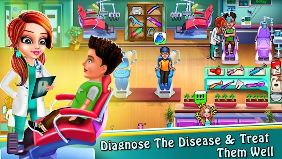 Dentist Doctor - Operate Surgery Hospital Game Screenshot