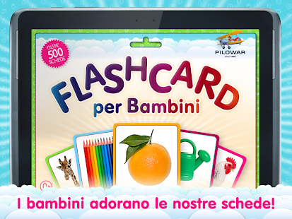 Italian Flashcards for Kids