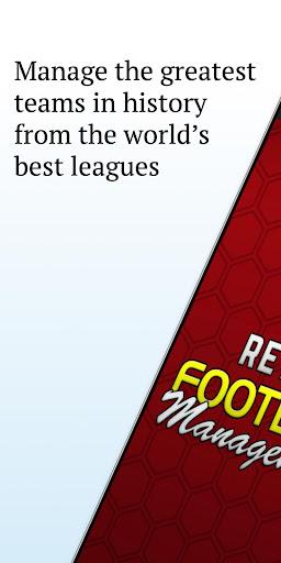 Retro Football Management - Be a Football Manager modiapk screenshots 1
