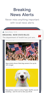 Opera News: Breaking Local & US Headlines Screenshot