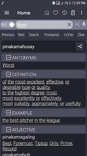 English Filipino Dictionary inn Screenshots 1