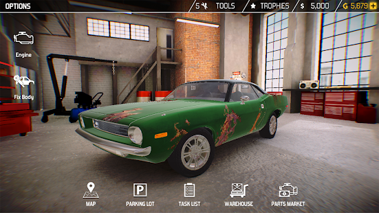 Car Mechanic Simulator Screenshot