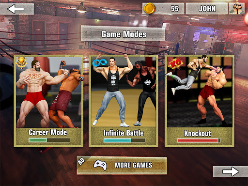 Bodybuilder Fighting Games: Gym Trainers Fight  screenshots 8