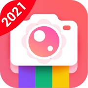 Bloom Camera, Selfie, Beauty Filter, Funny Sticker