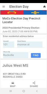 MoCo Voters App 1.0.9 Screenshots 8