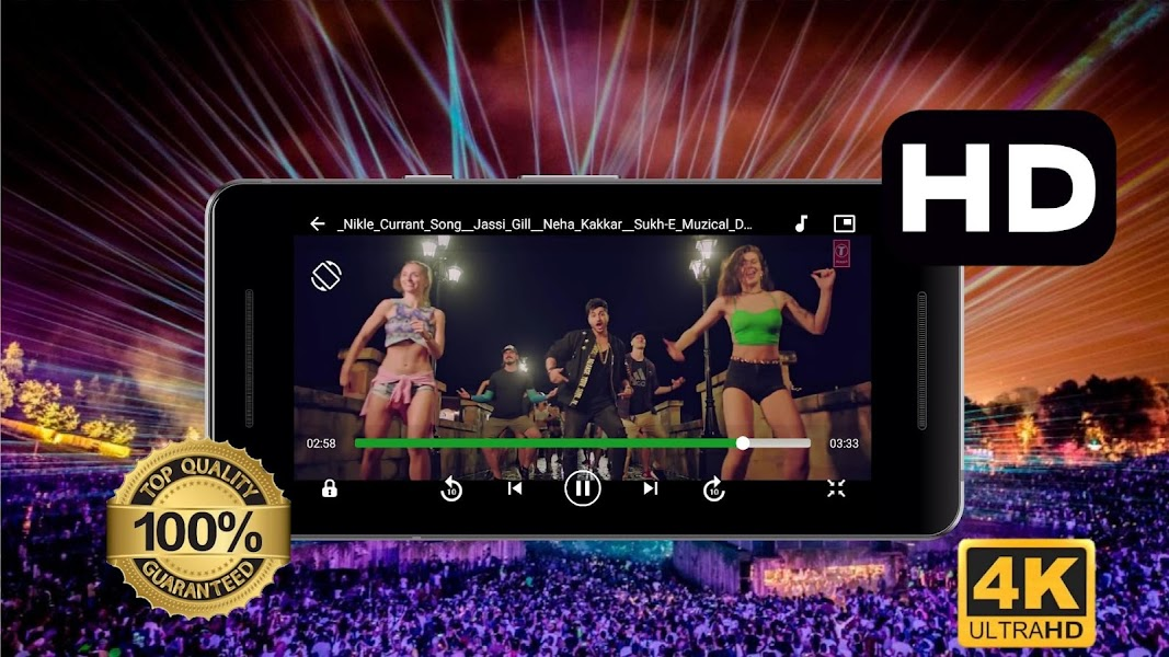 SAX HD Video Player All Format & Mp3 Music Player