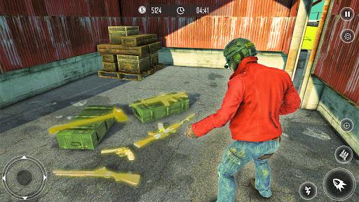 Code Triche Free Firing Squad Battleground Shooting Game APK MOD (Astuce) screenshots 2