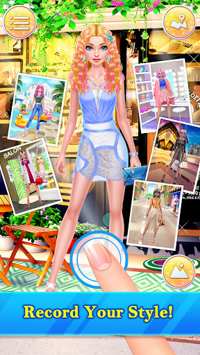 Hair Stylist Fashion Salon u2764 Rainbow Unicorn Hair screenshots 4