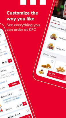 KFC Qatar - Order food online or takeaway from KFCのおすすめ画像4
