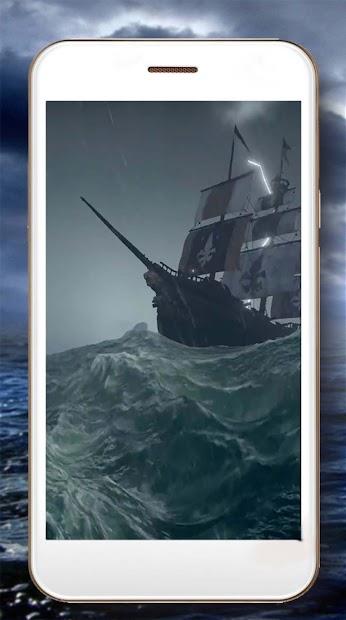 Ocean Storm Live Wallpaper screenshot 1