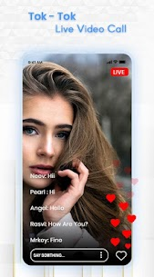 Free Toe-Tok Girl Live Video Call& Chat Guide 2020 3