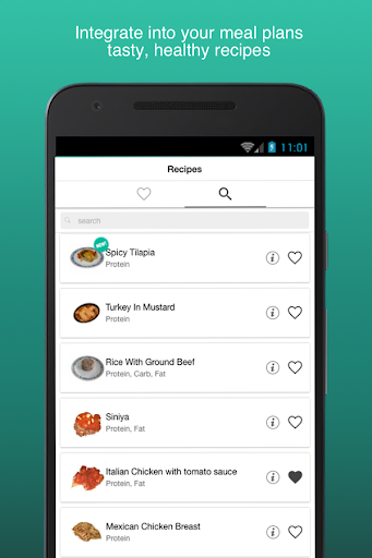 Fitness Meal Planner screenshots 2