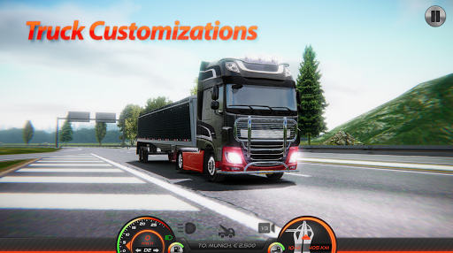 Truck Simulator : Europe 2 0.36 screenshots 6