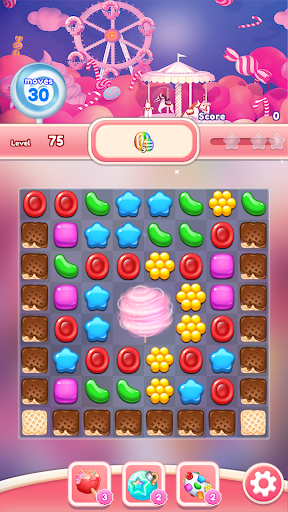 Candy Go Round - #1 Free Candy Puzzle Match 3 Game 1.4.1 screenshots 6