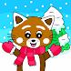 Pukkins Vinter - Roligt lärande spel för barn