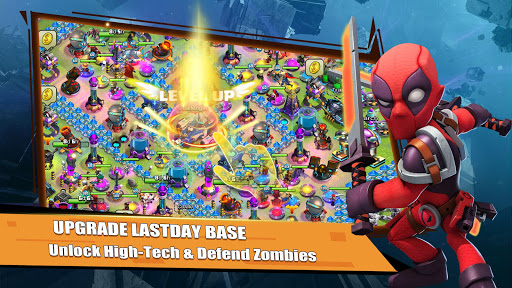 Rise of Superheroes:  Zombies Age - Empires Mobile screenshots 3