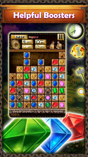 Gem Quest - New Jewel Match 3 Game of 2021 1.1.9 screenshots 2