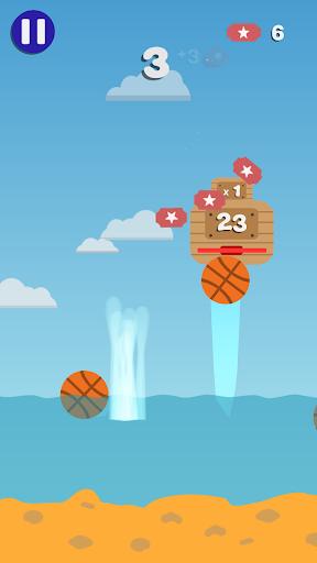 Code Triche Water Launch Basketball APK MOD (Astuce) screenshots 2