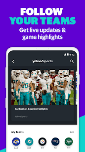 Yahoo Sports  sports scores, live NFL games  more Apk 4