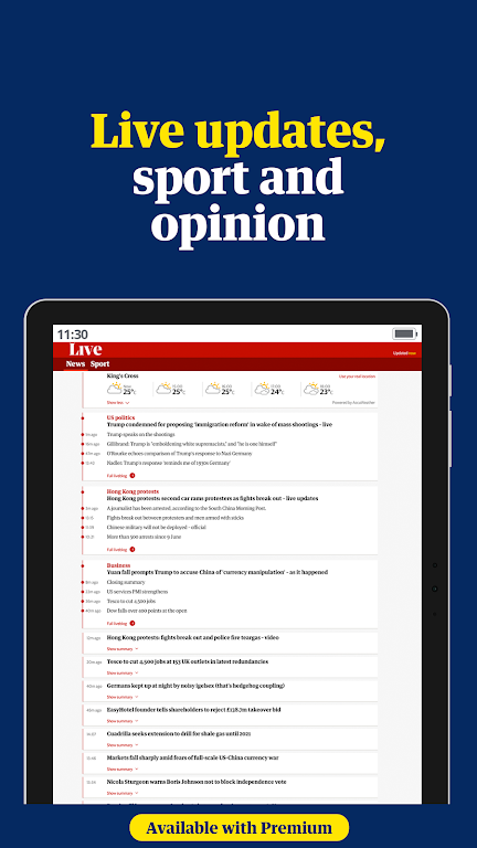 The Guardian - Live World News, Sport & Opinion  poster 8