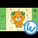 キーボードイメージ (みきゃん ver.) - Androidアプリ