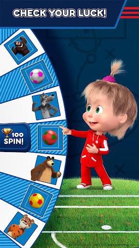 Masha and the Bear: Football Games for kids Apkfinish screenshots 4