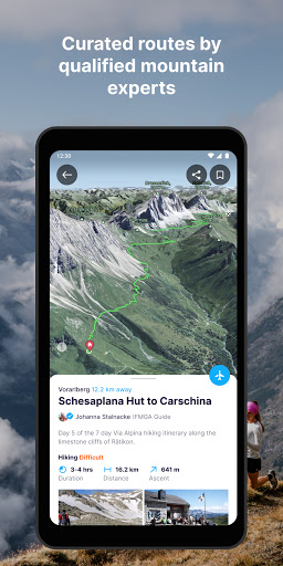 FATMAP: Hike, Bike, Ski Trails - 3D Outdoor Maps apktram screenshots 4