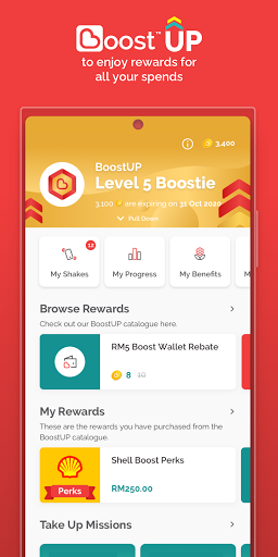 Boost eWallet - Cool & Rewarding way to pay screenshots 5