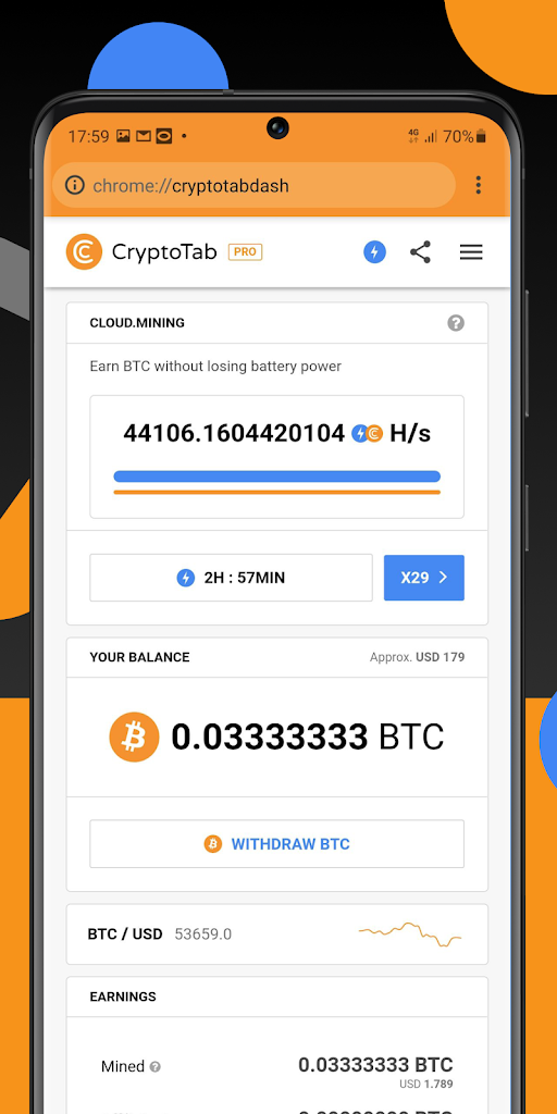 Crypto Tab - Chrome Web Store