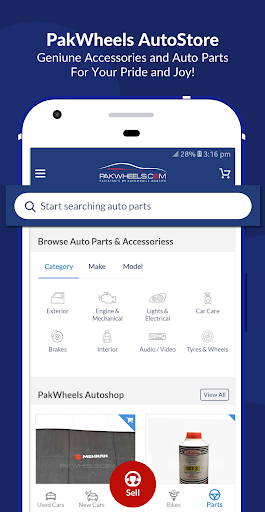 PakWheels: Buy & Sell Cars, Bikes and Auto Parts 11.7.5 Screenshots 5