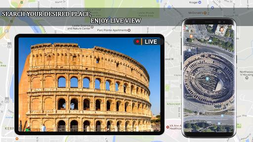 Live Earth Map 2020 -Satellite & Street View Map  Screenshots 3