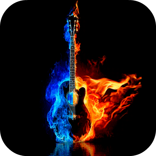 Burning Guitar Live Wallpaper Apps On Google Play