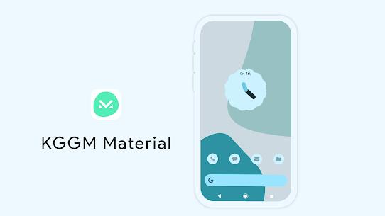 KGGM Material for KWGT APK 2