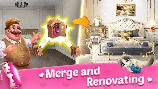Merge Dream - Mansion design - Decorate your house 1.3.14 screenshots 1