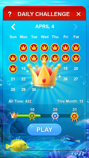 Solitaire - Ocean apkslow screenshots 5