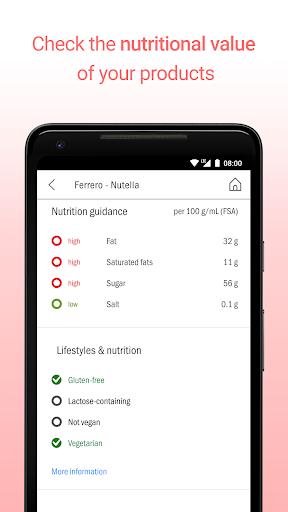 CodeCheck: Food & Cosmetic Product Scanner  screenshots 4