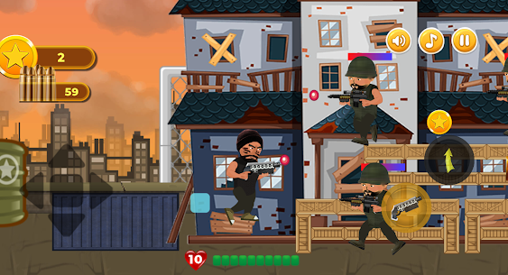 Revenge of Hero: 2D Platform Action Shooter Game For Android 1