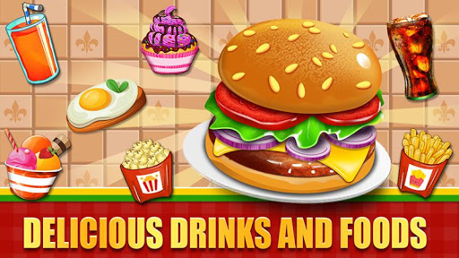 Fast Food  Cooking and Restaurant Game android2mod screenshots 2